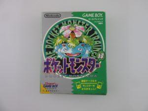 ゲームボーイソフト/ポケットモンスター(緑)