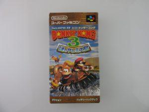 スーパーファミコンドンキーコング3ソフト