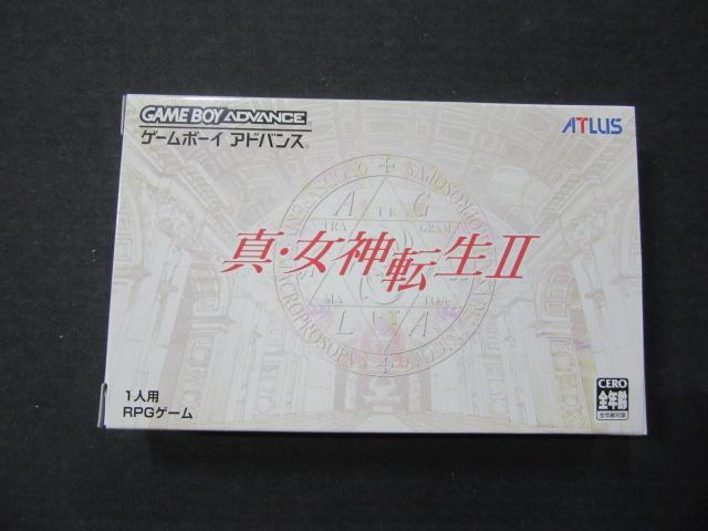 ゲームボーイアドバンスソフト/真・女神転生Ⅱ