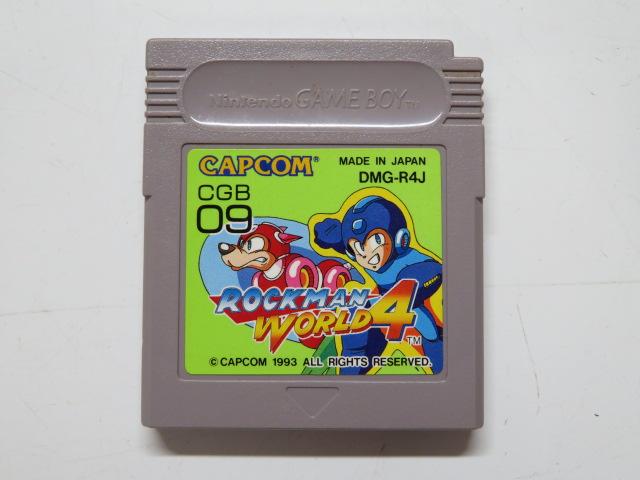 ゲームボーイソフト/ロックマンワールド4
