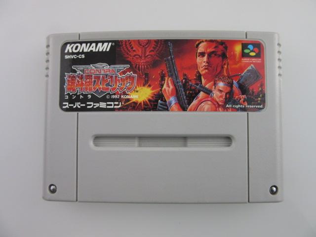 スーパーファミコンソフト/魂斗羅スピリッツ