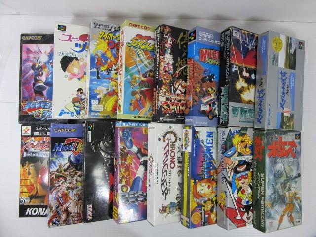 スーパーファミコンソフト「ロックマン&フォルテ」、「ザ・ファイヤーメン」、「マジンガーZ」などのゲームを買取!