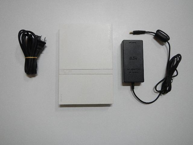 PS2_75000ホワイト_PS2本体