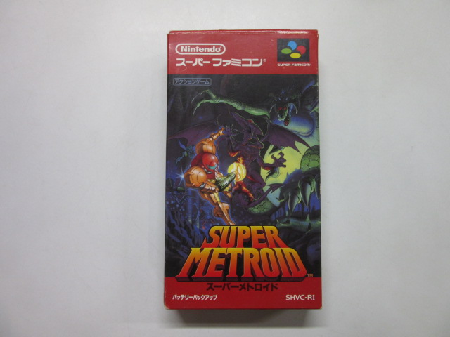 スーパーファミコン/スーパーメトロイド