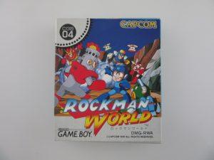 ロックマンワールド/ゲームボーイソフト