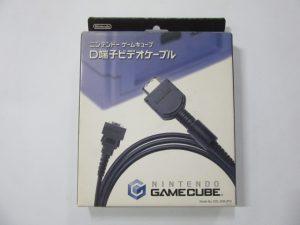ゲームキューブ/D端子ケーブル/パーツ