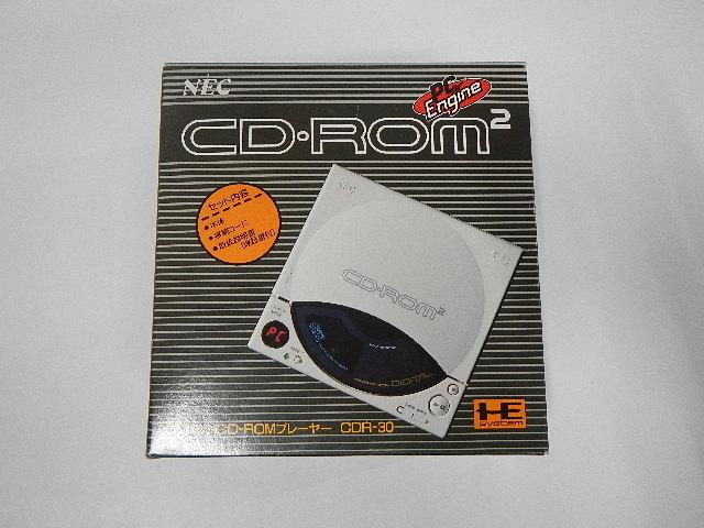 PCエンジン CD-ROM2の買取価格はいくら?どのお店で売ればいい?