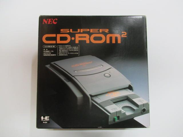 SUPERCDROM2/PCエンジン本体系
