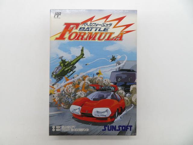 貴重なファミコンソフト「重力装甲メタルストーム」「バトルフォーミュラ」「聖鈴伝説リックル」などのゲームを買取!