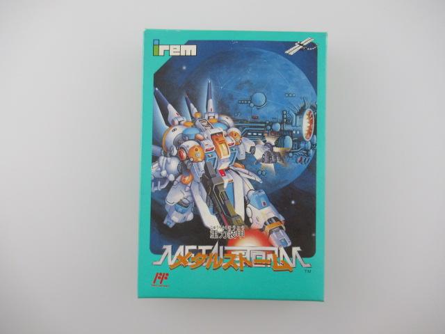 ファミコンソフト/重力装甲メタルストーム