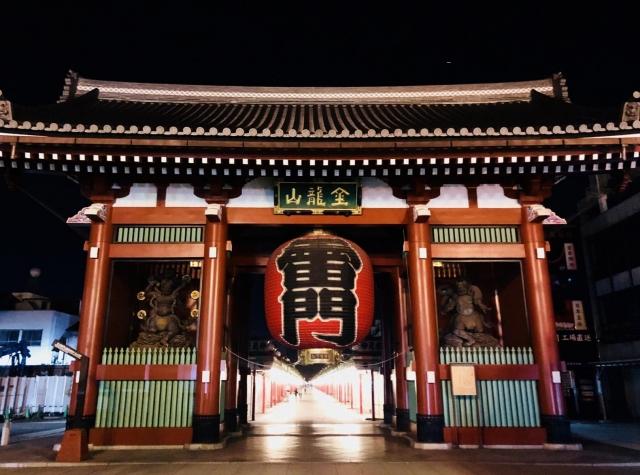 台東区浅草寺