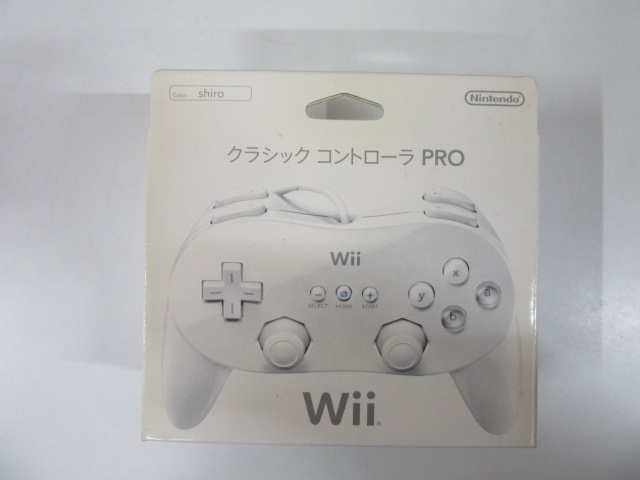 Wiiクラシックコントローラプロ(白)