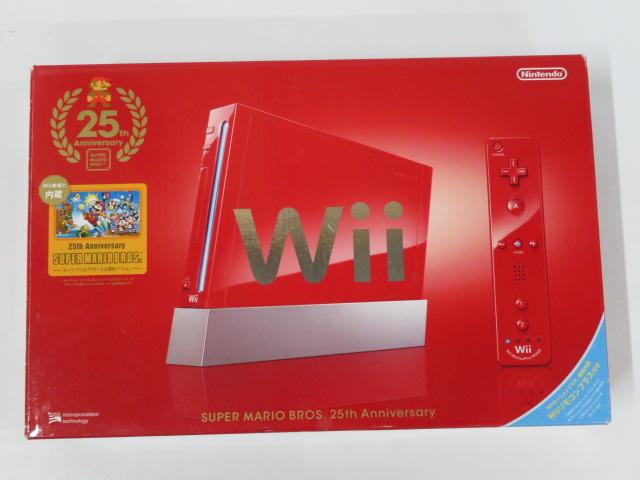 Wiiレッドスーパーマリオ25周年仕様